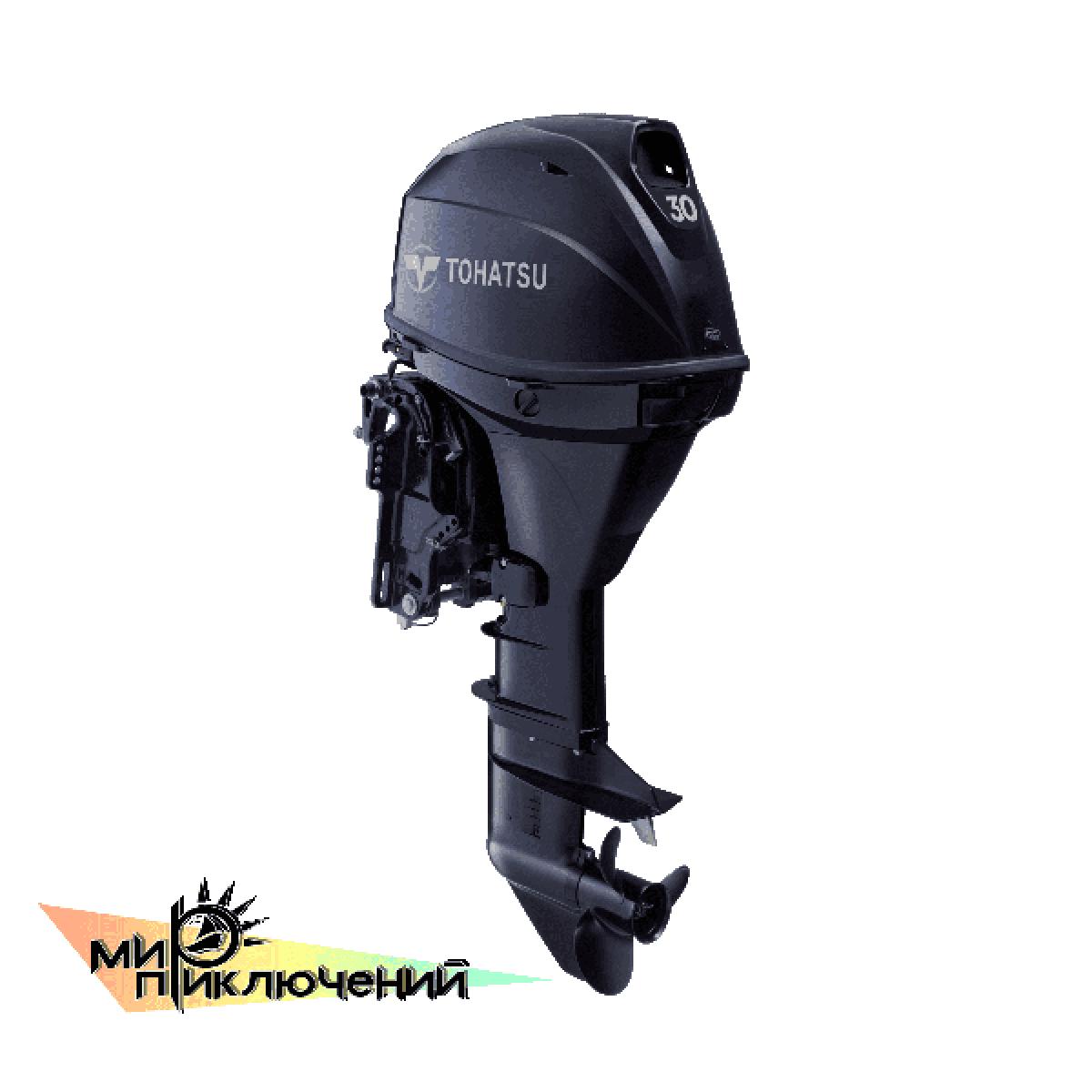 Tohatsu MFS 30 EPTL 4 х тактный подвесной лодочный мотор Тохатсу 30 л с