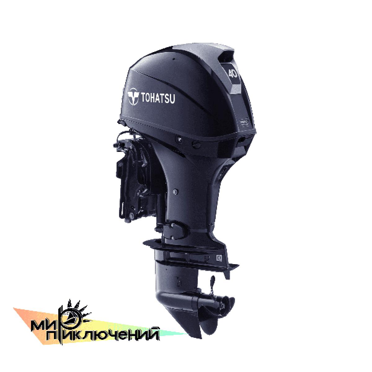 Tohatsu MFS 40 ETL, 4 х тактный подвесной лодочный мотор Тохатсу 40 л с