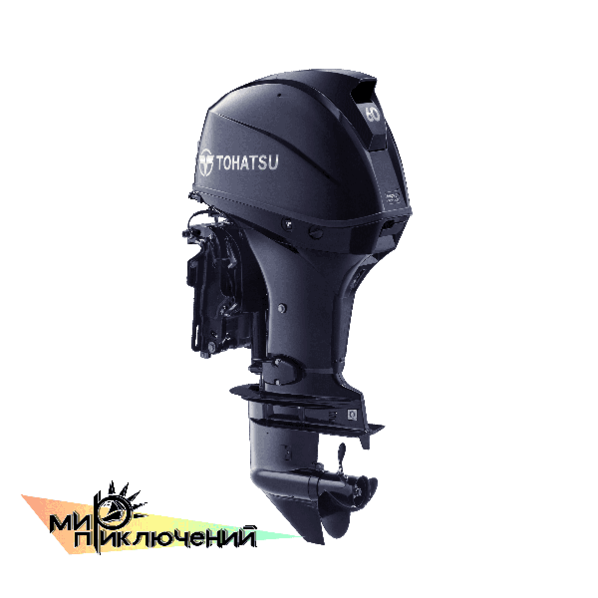Tohatsu MFS 60 ETL, 4 х тактный подвесной лодочный мотор Тохатсу 60 л с