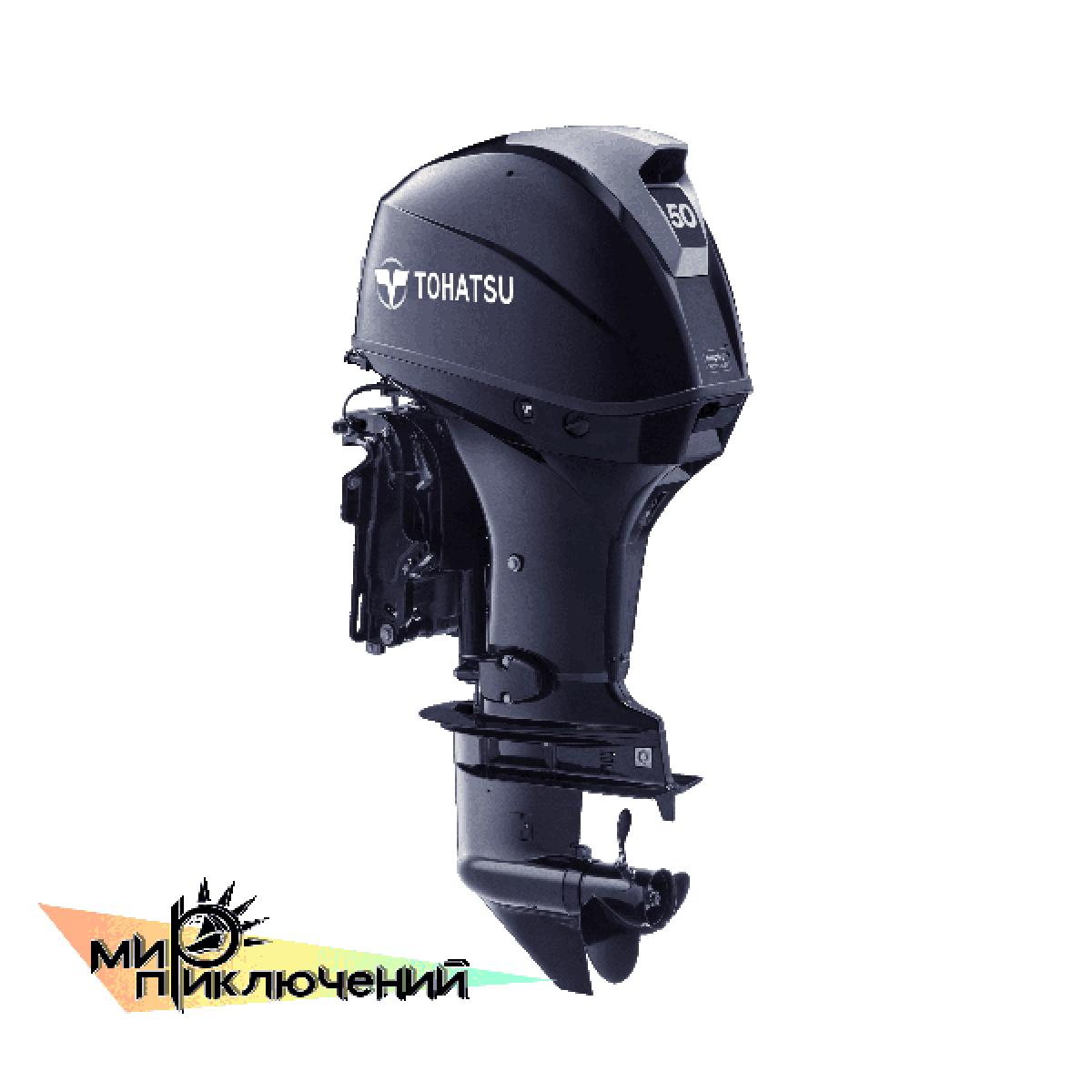 Tohatsu MFS 50 ETL, 4 х тактный подвесной лодочный мотор Тохатсу 50 л с