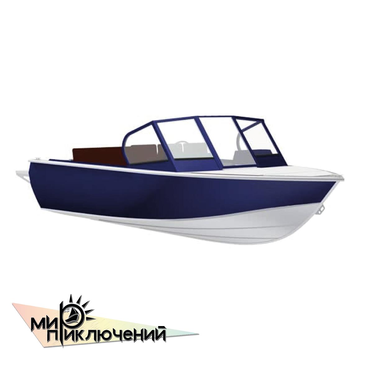 Моторная лодка Салют 480 NEO