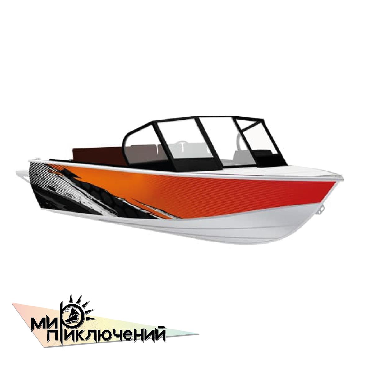 Моторная лодка Салют-480 Neo FISH PRO