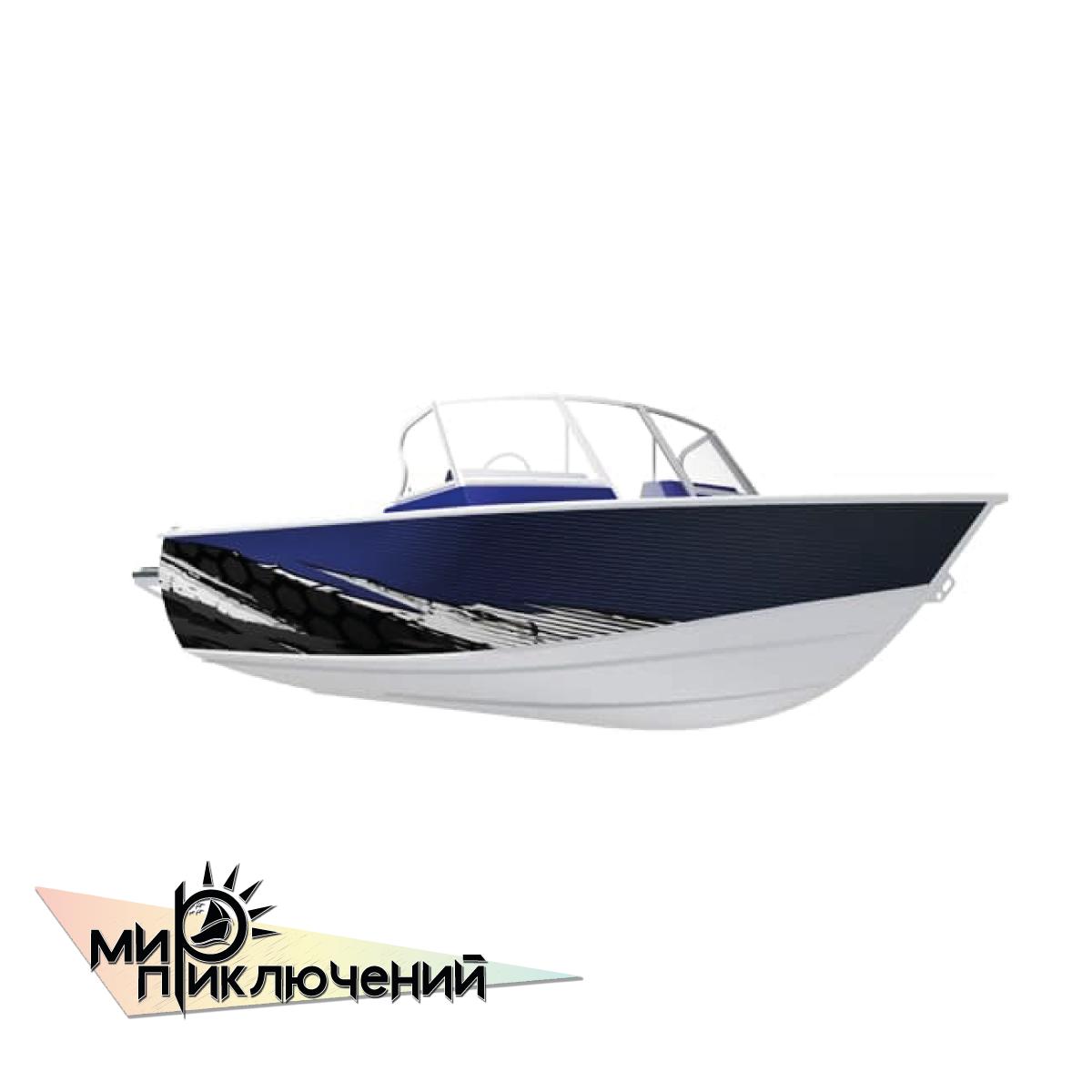 Моторная лодка Салют-480 Neo Pro
