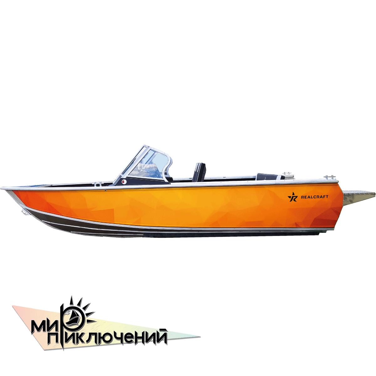 Моторная лодка RealCraft Impulse  500